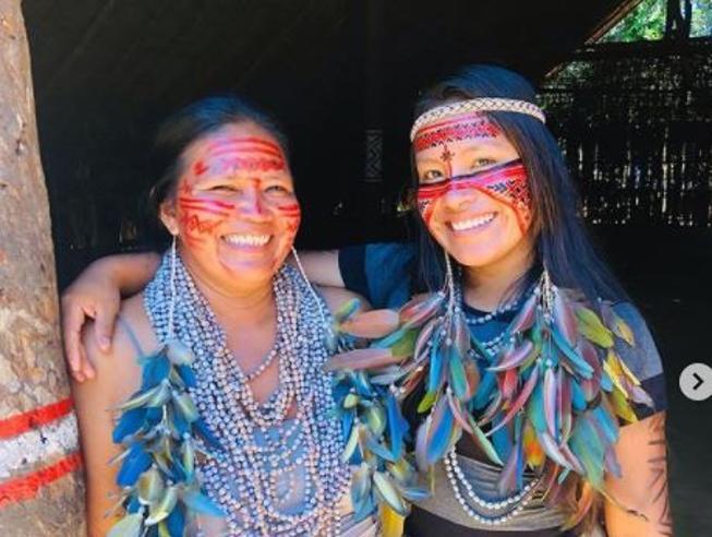Maira, la tiktoker dell'Amazzonia