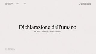 «Dichiarazione dell'umano», il decalogo letto da Cristiana Capotondi