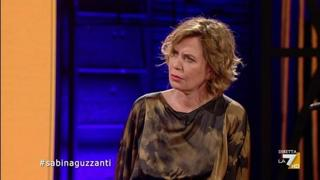Barbara Palombelli, l'interpretazione di Sabina Guzzanti a Propaganda Live