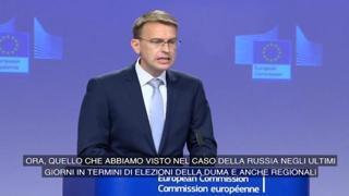 Elezioni in Russia, l'Ue denuncia un clima di intimidazione
