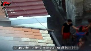 Catania, smantellata piazza di spaccio: coinvolti anche bambini di 10 anni