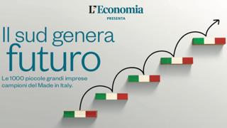 Il Sud genera futuro. Le 1000 piccole grandi imprese campioni del Made in Italy