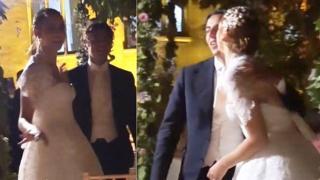 Miriam Leone e Paolo Carullo, la festa delle loro nozze in Sicilia