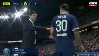 Psg, Messi sostituito da Pochettino si arrabbia e non gli stringe la mano