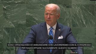 Cambiamenti climatici, Biden: «Raddoppieremo i fondi per aiutare i paesi in via di sviluppo»