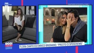 Flora Canto racconta la proposta di nozze di Enrico Brignano