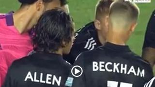 Romeo Beckham debutta in Usa con il