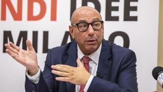 Milano, il candidato sindaco del centrodestra Luca Bernardo risponde alle domande del «Corriere»