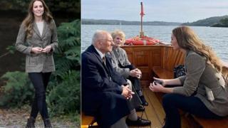 Kate Middleton, l'emozionante incontro con i reduci dell'olocausto