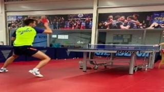 Ping pong, a segno da tutte le posizioni: Calderano non sbaglia un colpo