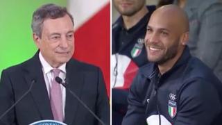 Atleti olimpici e paralimpici da Draghi: «Jacobs, non volevo disturbarti con la mia telefonata il giorno della vittoria»
