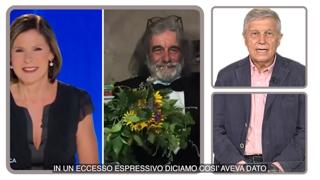 Il ritorno di Mauro Corona a «Cartabianca»: Berlinguer lo richiama per sopperire al calo di ascolti