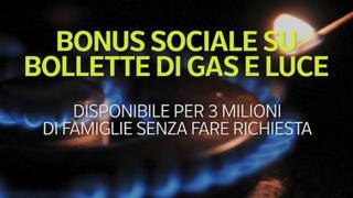 Bonus sociale su bollette di gas e luce