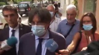 Catalogna, Puigdemont: «Sono libero e continuerò a combattere»