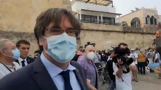Puigdemont: la prima uscita pubblica ad Alghero
