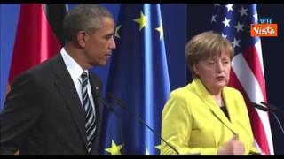 Da Obama a Monti, da Renzi a Trump. Tutti i leader con la Cancelliera Merkel in 16 anni di mandato