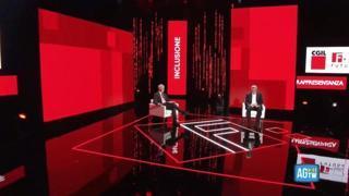 Luciano Fontana intervista Maurizio Landini: «Serve nuova partecipazione tra governo e imprese»
