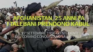 Afghanistan, 25 anni fa i talebani prendevano Kabul
