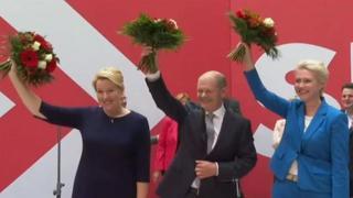 Germania, l'Spd celebra la vittoria alle elezioni