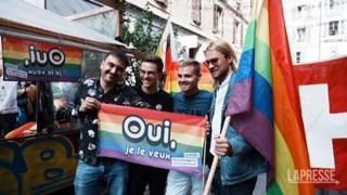 Svizzera, referendum matrimoni gay: stravince il Sì e la comunità LGBT festeggia