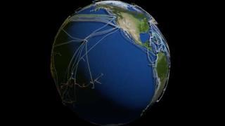 Internet: ecco la mappa dei cavi sottomarini nel  mondo