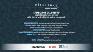 Pianeta 2021 - L'ambizione del futuro. L'agenda di giovani e governi, dalla ripresa sostenibile alla società consapevole