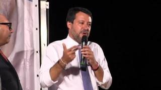Il discorso di  Salvini che sembra rivolto a Morisi: «Nella vita si può sbagliare, l'importante è rialzarsi con umilità»