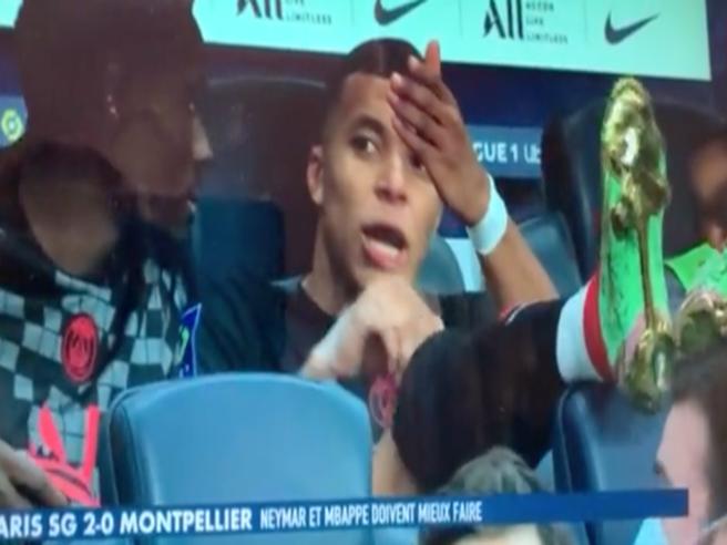 Mbappé contro Neymar: «Quel barbone non mi passa la palla» - il video del labiale