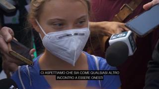 Youth4Climate, Greta Thunberg a Milano: «Mi aspetto tante parole»