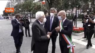 Mattarella a Pescara: «Cultura tra aspetti più importanti della convivenza»