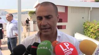 Cannavaro: «Allenare il Napoli? A chi non piacerebbe»