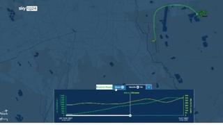 Aereo caduto a Milano, il tracciato radar del volo mostra un'anomalia e poi lo schianto