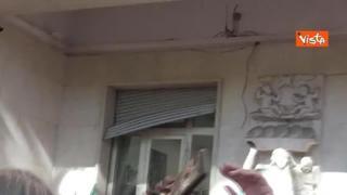 Ecco i danni alla sede nazionale della Cgil a Roma