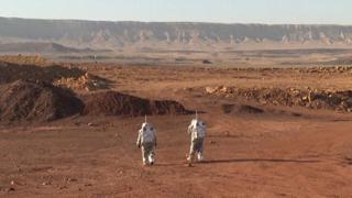 Astronauti simulano la «vita su Marte» nel deserto israeliano
