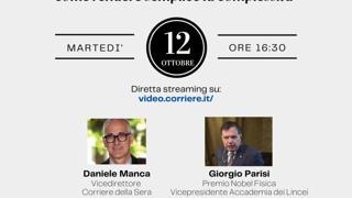 Lo dicono i Lincei- Il Nobel Parisi: come i suoi studi ci aiutano nella vita quotidiana