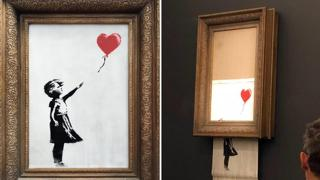 Venduta a 22 milioni di euro l'opera semidistrutta di Banksy