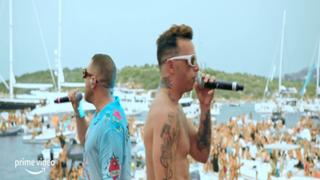 Salmo, da venerdì su Prime Video il doc sul concerto galleggiante in Sardegna