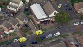 Gran Bretagna, ucciso deputato Tory: le immagini dall'alto del luogo del delitto