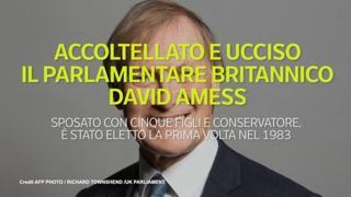 Accoltellato e ucciso il parlamentare britannico David Amess