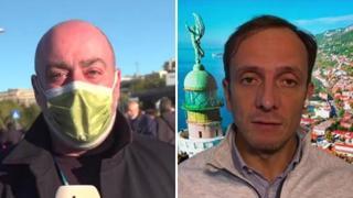 Manifestante all'inviato Sky: «Togli la mascherina». Fedriga durissimo: «Dimenticano gli ospedali pieni »