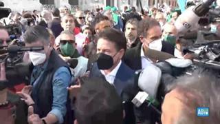 Manifestazione dei sindacati a Roma, Conte: «Grande festa democratica senza colore politico»