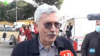 D'Alema in piazza con i sindacati: «L'assalto alla Cgil? Son vissuto in un'epoca in cui queste cose si sapevano prima»
