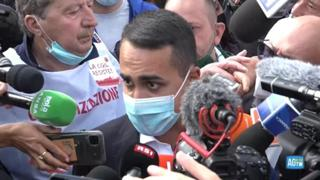 Manifestazione dei sindacati, Di Maio: «Mi spiace che la destra si sia persa una piazza così bella»