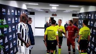 Juventus-Roma, Orsato a Cristante: «Il vantaggio sul rigore non si dà mai. Dai la colpa a me perché hai sbagliato il rigore?»