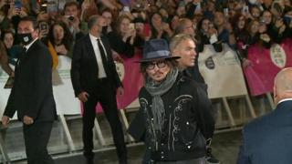 Festival Cinema, l'arrivo di Johnny Depp a Roma