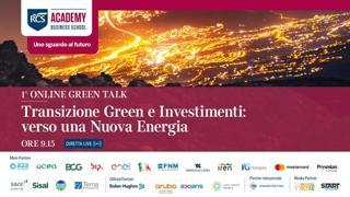 Transizione green e investimenti: verso una nuova energia