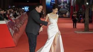Il red carpet di Quentin Tarantino alla festa del cinema di Roma