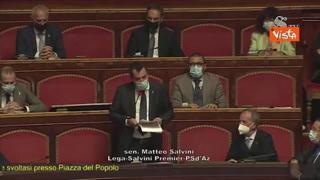 Salvini: «Scorsa settimana figura meschina a livello mondiale»