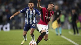 Champions, il Milan perde per 1-0 in casa del Porto: i gol e le azioni