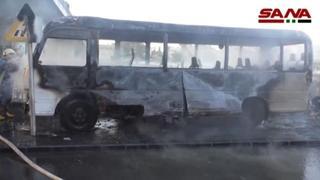 Siria, due bombe contro un bus dell'esercito: almeno 13 morti